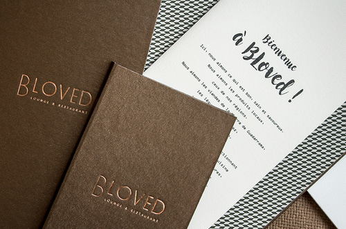 RESTAURANTE B-LOVED  | Cartas para restaurantes
