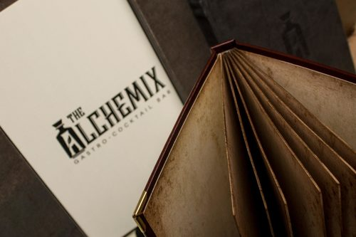 THE ALCHEMIX  | Cartas para restaurantes
