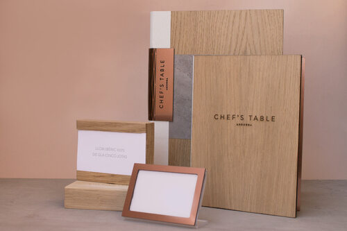 CHEF'S TABLE  | Cartas para restaurantes