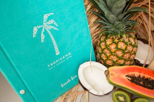 TROPICANA BEACH  | Cartas para restaurantes
